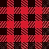 4 Set of 16 Unique Industries Buffalo Plaid Lumberjack Beverage Napkins bundled by Maven Gifts