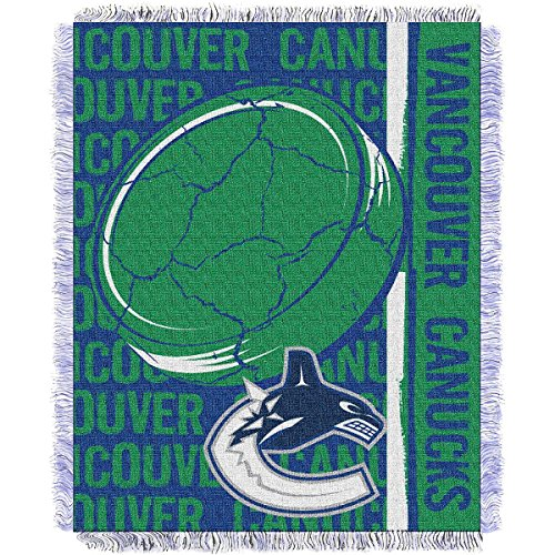 Vancouver Canucks Blanket (NHL Vancouver Canucks Double Play Jacquard Throw, 48