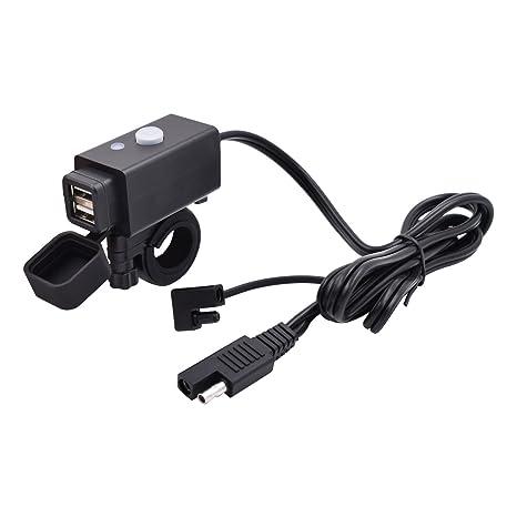 Amazon.com: Aileap - Cargador USB para motocicleta ...