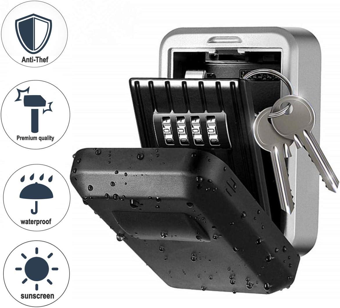 Schlüsselsafe Schlüsseltresor Schlüsselbox Keysafe Zahlenschloss OW 09