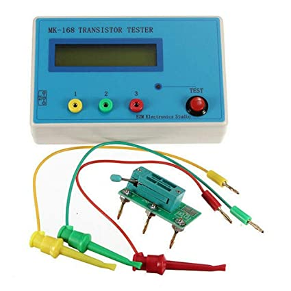 New MK-168 TR\LCR\ESR Transistor LCR ESR Tester Semiconductor Device Analyzer