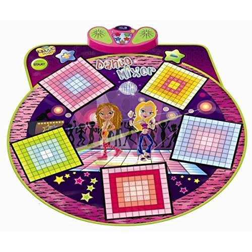 Dance Mixer Electronic Playmat - Touch-Sensitive Design with Back