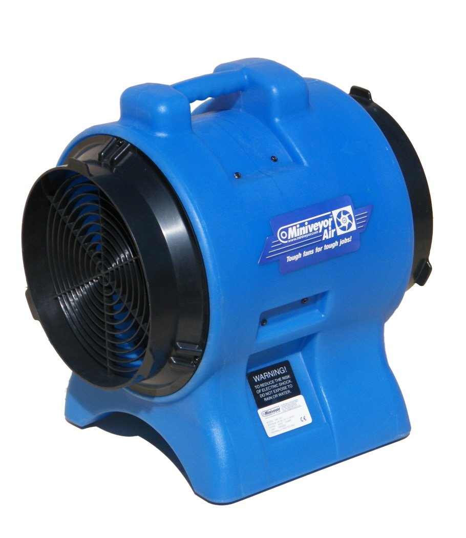 Miniveyor Air VAF-300 Vane Axial Fan with Dust and Fume Extraction ...