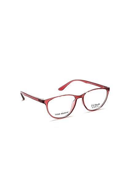 6dd487932fd8 Titan Full Rim Cat Eye Women's Spectacle Frame - (TW1108WFP2|51 ...