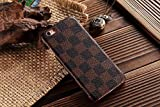 HeiL® iPhone6s TPU *Fast US Deliver Guarantee Fulfilled by Amazon* New Elegant Luxury High Quality PU Leather Checker Pattern Classic Style Cover Case For Apple iPhone6 iPhone 6 6S 4.7