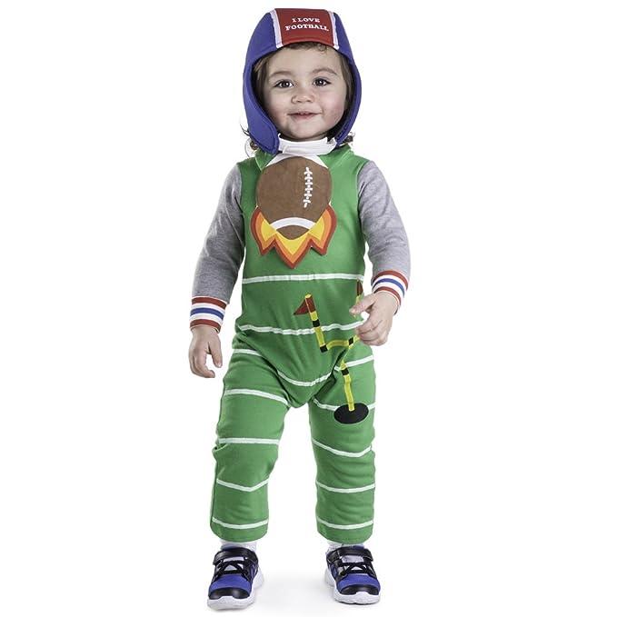 Amazon.com: Disfraz de bebé de fútbol por Dress Up America ...