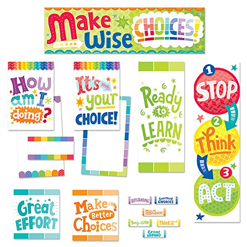 Creative Teaching Press Mini Bulletin Board, Behavior Clip Chart (6952)