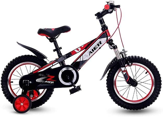 M-YN Bicicleta Niños con Ruedines Niños niños for Bicicleta de ...