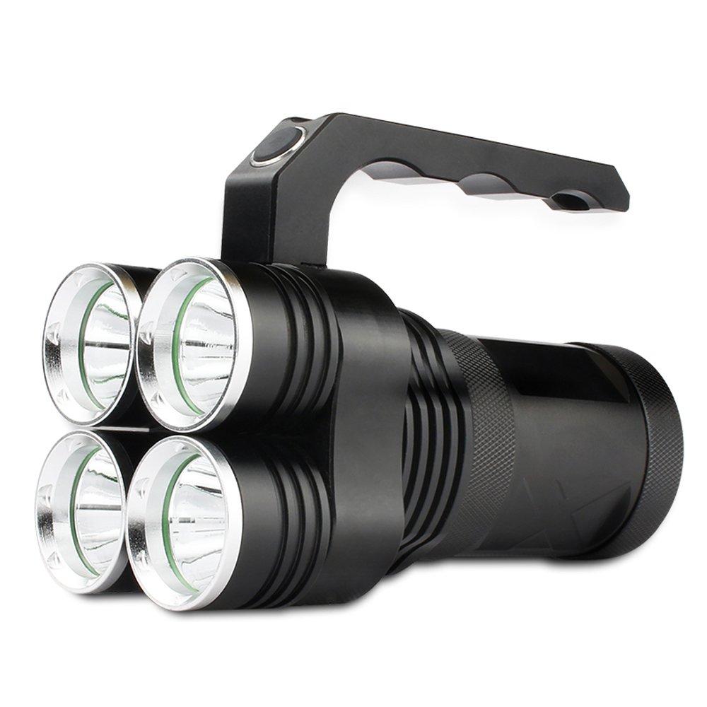 Flashlighx High Power 1000 Lumen XML-T6 LED Tragbare Scheinwerfer Blend Aluminiumlegierung Notfall Taschenlampe Taschenlampe Camping Exploration Angeln Scheinwerfer Arbeitslampe