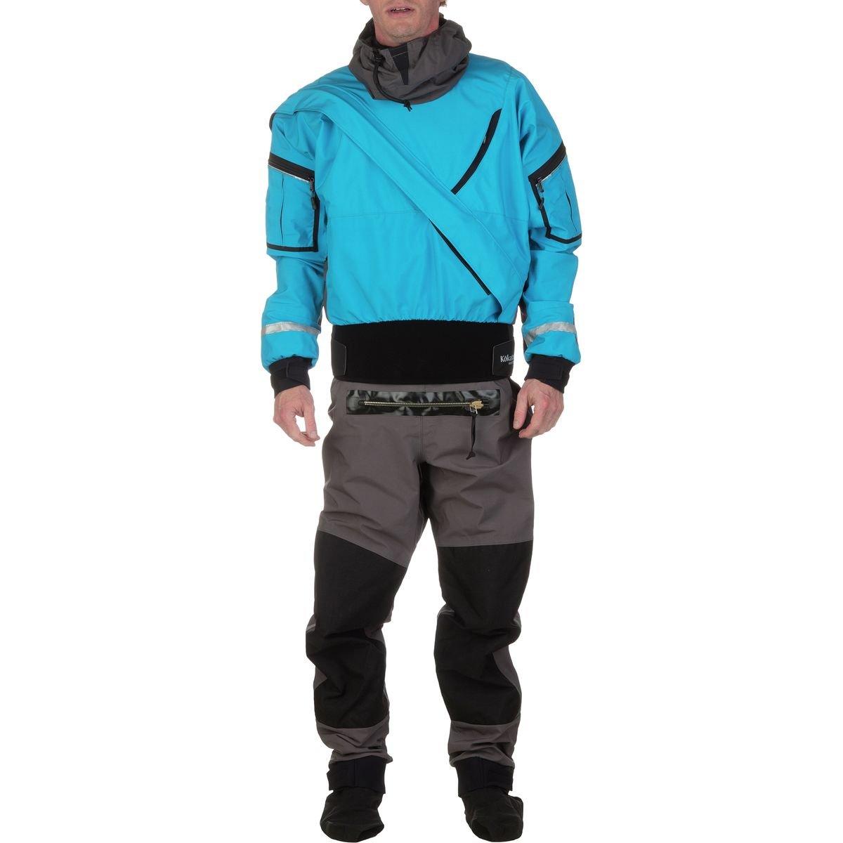 Kokatat Men's GORE-TEX Expedition Drysuit-ElectricBlue-M