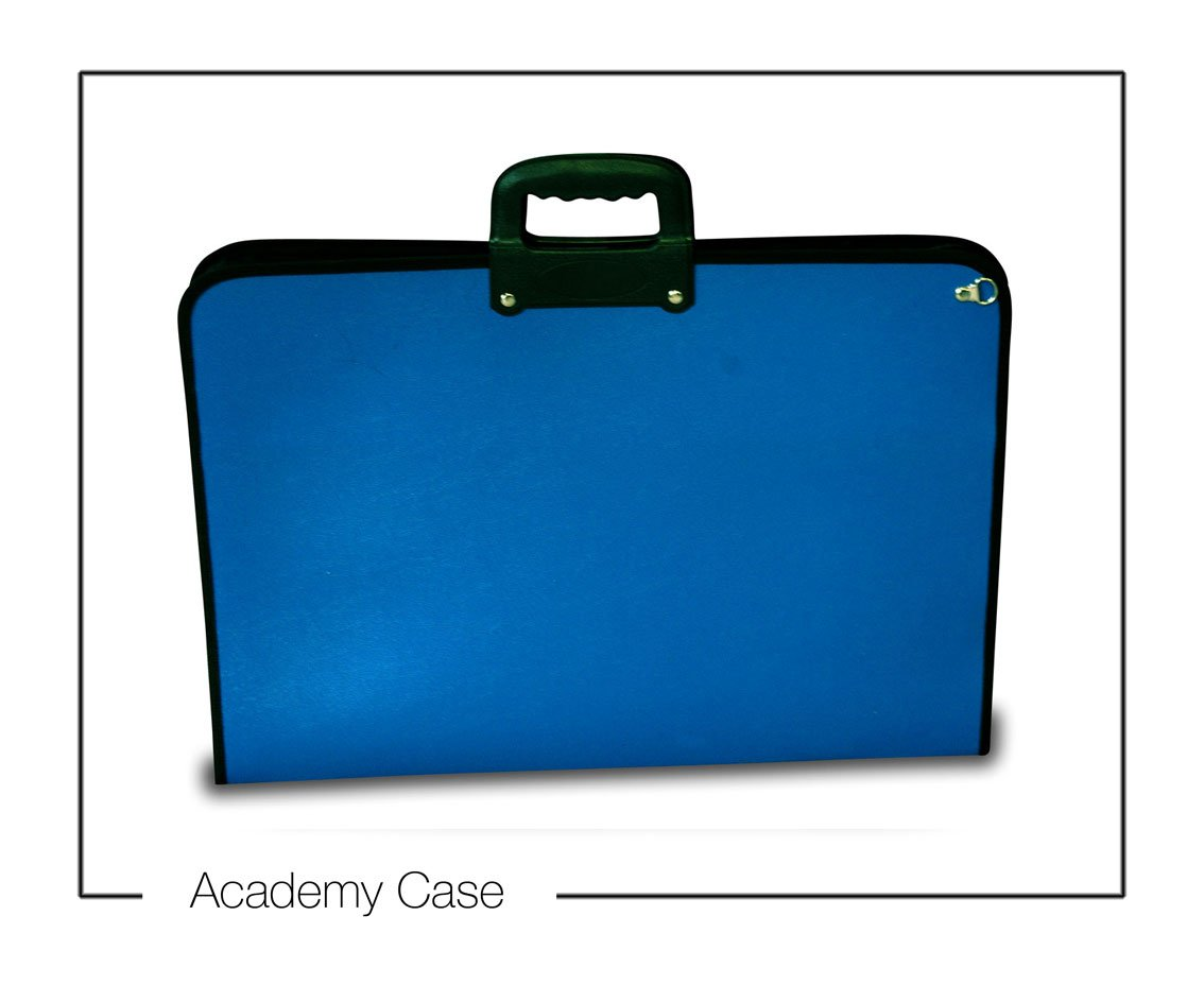 Artcare 15223400 46.5 x 3 x 35.5 cm A3 Synthetic Material Academy Case, Royal Blue Mapac