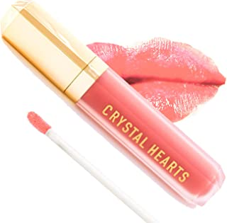 product image for CrystalHearts Matte Liquid Lipstick - Long-Lasting and Non Transfer Kiss Proof Makeup Lip Gloss- Cruelty & Paraben Free Hydrating Lip - Made in USA (Diana)