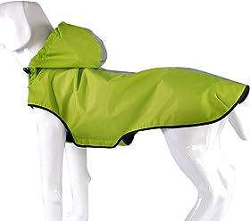 3653c64b24 Fosinz Outdoor Water-Resistant Dog Clothes Dog Raincoat Dog Pet Jacket