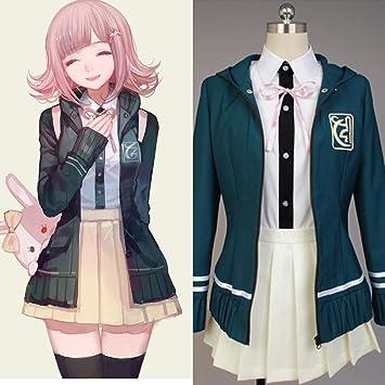 DuHLi Súper Danganronpa Cosplay Chiaki Nanami Disfraz Anime ...