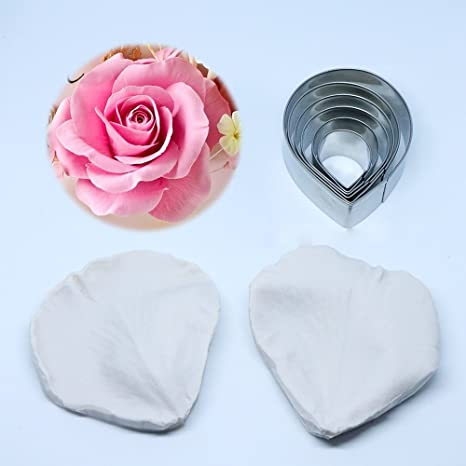 RoseFlower High-quality stainless steel ravioli cookie cutters with rolling pin dumplings silver. 34.5 x 11 x 5.3 cm square dumpling pastry mould for 12 pieces ravioli