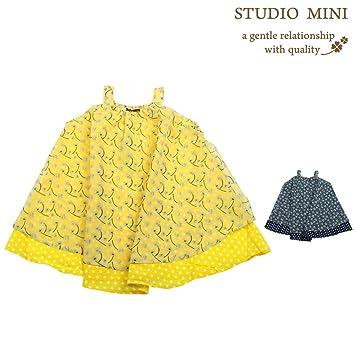 44891ac2e8d42 Amazon.co.jp:  子供服  Studio mini (スタジオミニ) シフォン花柄 ...