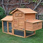 FeelGoodUK CHICKEN COOP HEN HOUSE POU...