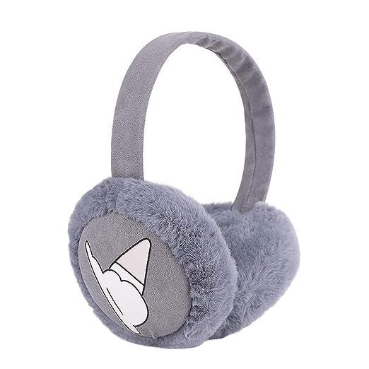7f7d056b3a8 Womens Girls Cute Winter Earmuffs Foldable Thick Fur Fleece Ear Warmers  Thermal Ear Cover Wrap Christmas