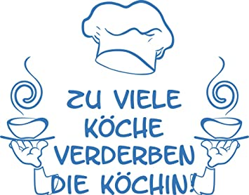 GRAZDesign 620236_40_053 Wandtattoo Spruch lustig über Chefkoch für ...