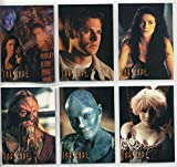 Farscape Season 1 9 Card Preview Set F1-6 Ltd / 1000