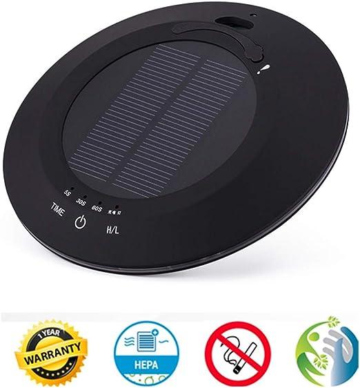 LFNIU Purificador de Aire para Autos/USB Solar Purificador de Aire ...