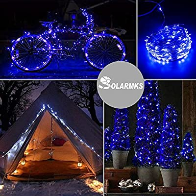 Solarmks Solar String Lights 150 LED 72ft Copper Wire Lights Waterproof Starry Fairy String Lights for Outdoor …