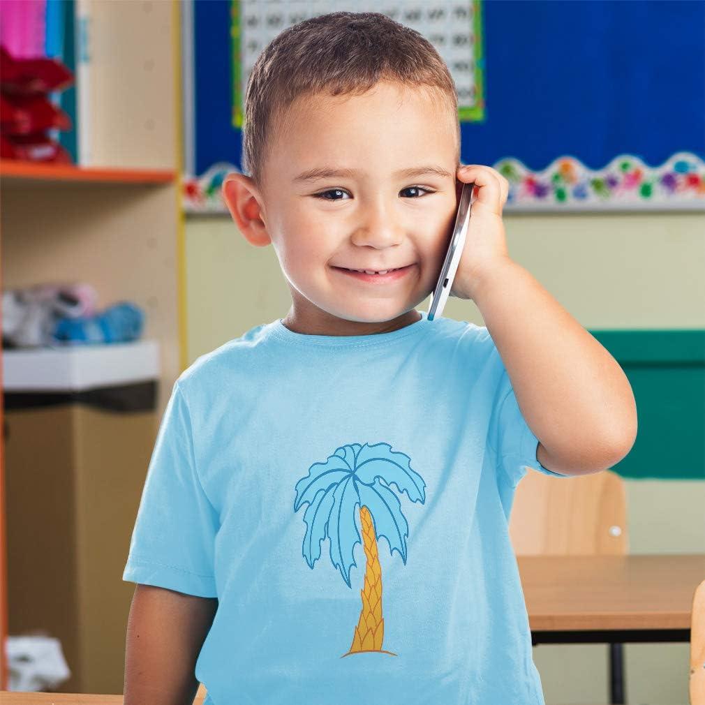 Custom Baby /& Toddler T-Shirt Palm-Tree Cotton Boy /& Girl Clothes