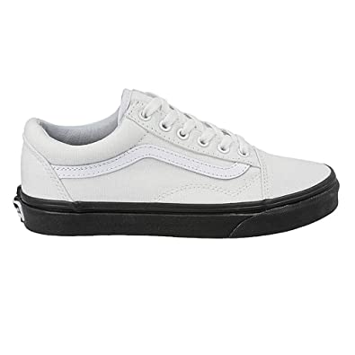 f7044104c85 Vans Old Skool MLX - True White Black-UK 9.5 EU 44  Amazon.co.uk ...