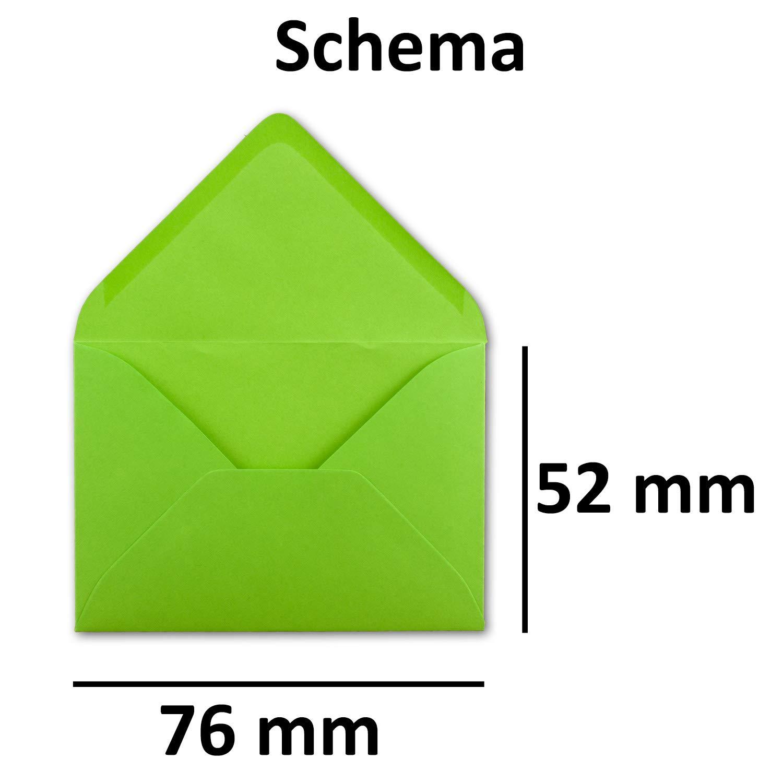 500 Mini Brief-Umschläge - Hell-Blau - 5,2 x x x 7,6 cm - Miniatur KuGrüns mit Nassklebung für Blaumen-Grüße, Grußkarten, Anhänger & Geld-Geschenke - Gustav Neuser® B07PRXKGRY | Die Farbe ist sehr auffällig  207e99