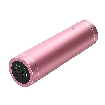 AUKEY USB C Powerbank 5000 mAh, Mini Cargador portátil Tipo ...