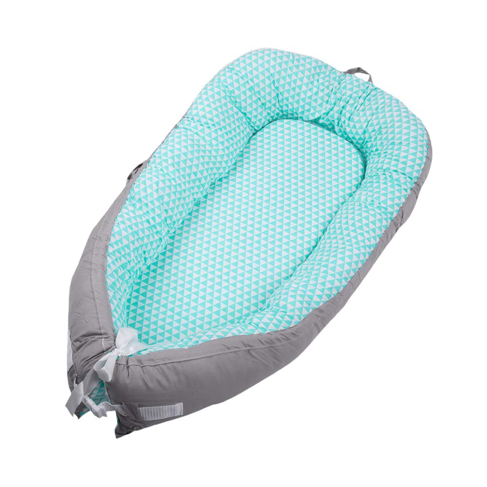 Parkside Wind Baby Lounger Portable Travel Bed Infant Co-Sleeping Foldable Bassinet Soft Breathable Newborn (BY-2011)