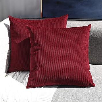 Amazon.com: Sunfay - Juego de 2 fundas de almohada ...