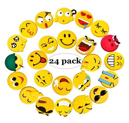 Emoji imanes de nevera, juego de 24 fuerte imanes para nevera para ...