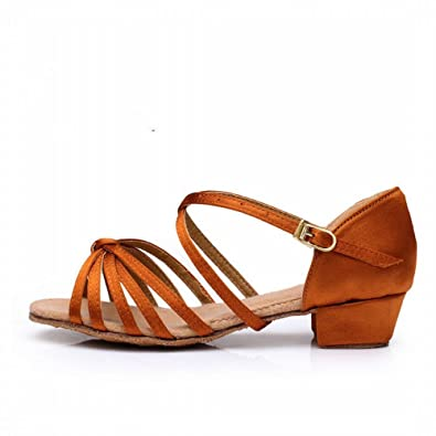 BYLE Donna Adulto Sandali di Cuoio Cinturino alla Caviglia