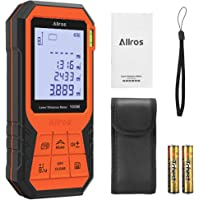 ALLROS Digital Laser Distance Meter with Mute Function 2.0 inch Large Backlit LCD Display (large)