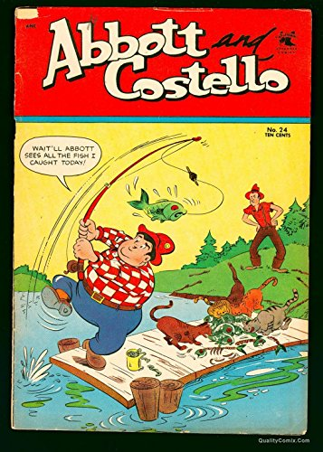 Abbott and Costello #24 VG 4.0