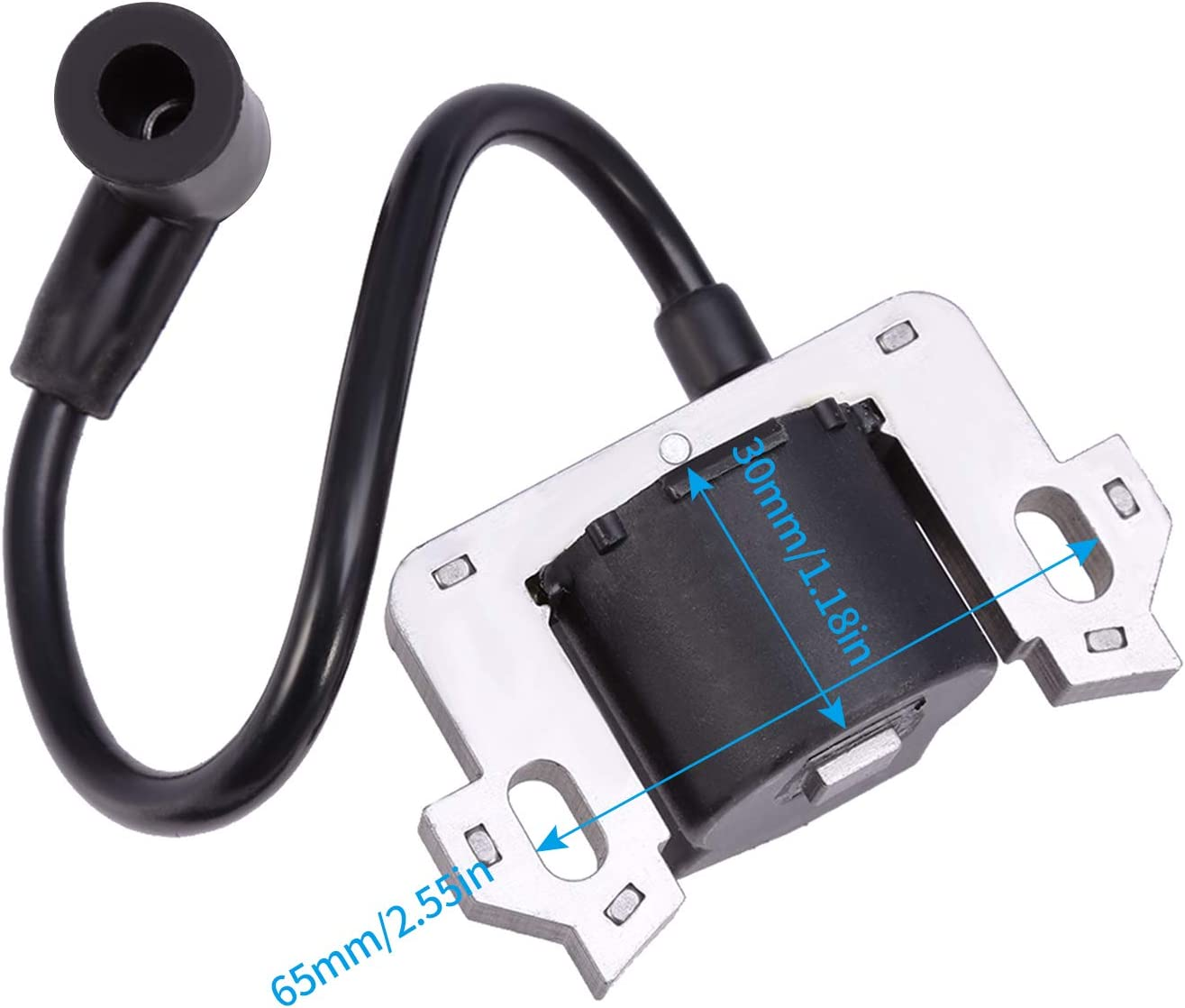 /004 ouyfilters New Brand Replacement Ignition Coil with Spark Plug For Honda gc135/GC160/gc190/gcv135/GCV160/gcv190/REPLACE 0500/17211-zl8/