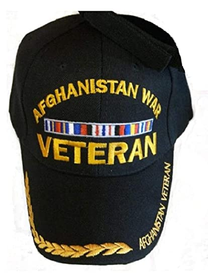2fb3e2003 Amazon.com: Afghanistan WAR Veteran Baseball Style Embrodered Hat Ball Cap  Usa Vet Iraq: Other Products: Clothing