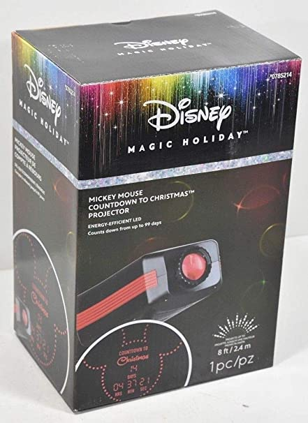 Until Christmas 99 Days Till Christmas.Disney Lightshow Led Countdown To Christmas Projector By