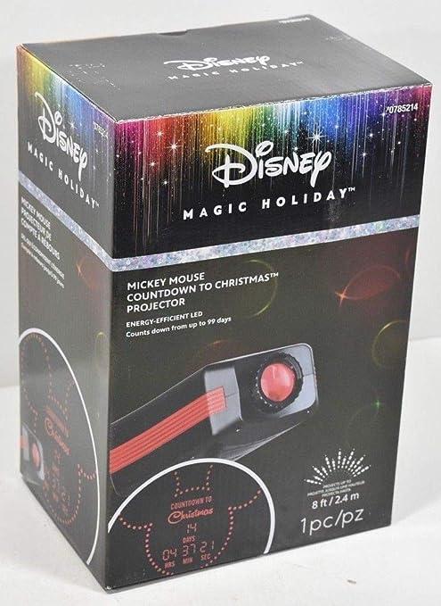 Amazon.com: Disney Lightshow LED cuenta regresiva a la ...