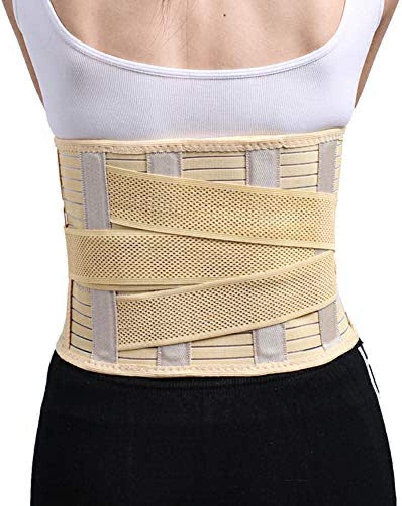 WENZHEN Postura ortopédica, cinturón de Soporte de la Columna Vertebral Cinturón Cinturón Cinturones ortopédicos de Cintura Lumbar Corsés Médica Alivio de la Espalda Dolor @ X-Large
