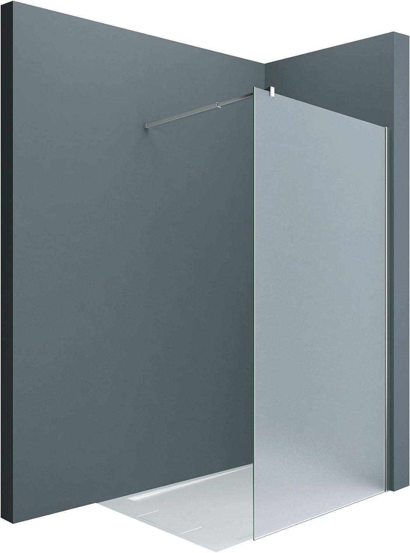Sogood: Lujosa Mampara / Panel de ducha de vidrio transparente ...