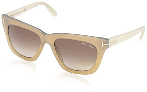 Tom Ford Womens TF361 Sunglasses, Shiny Light Bronze
