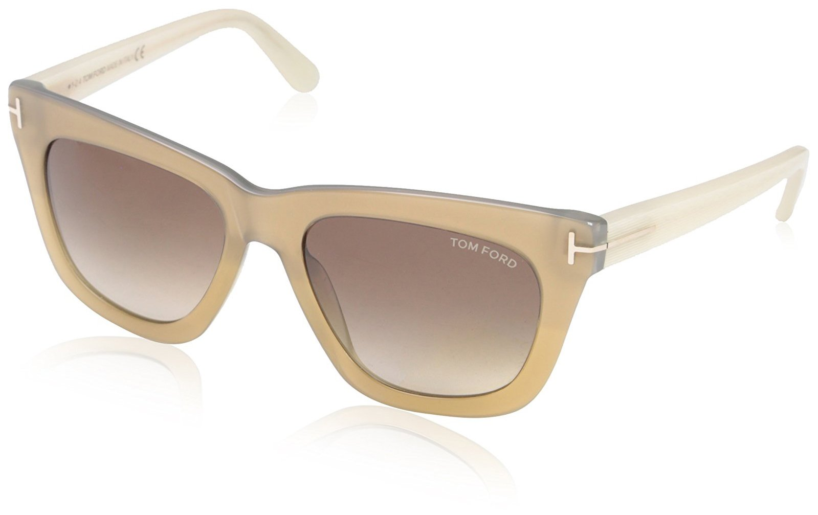 Tom Ford Women's TF361 Sunglasses, Shiny Light Bronze