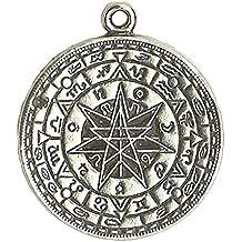 Talisman of Protection - Talisman Amulet Pewter Pendant