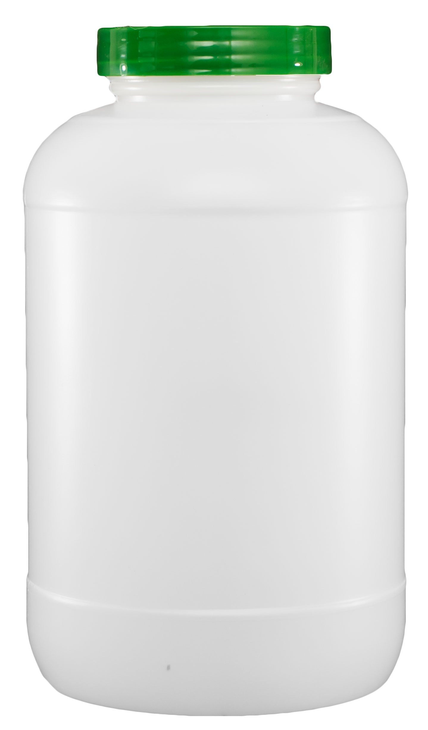 Mr. Tonic - 1 gal. Plastic Bar Storage Container w/Green Lid