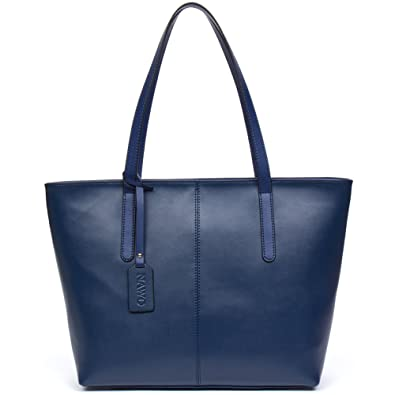 52baad8d2f6a Amazon.com  NAWO Women Leather Handbags Designer Shoulder Tote Top-handle  Purses  Shoes