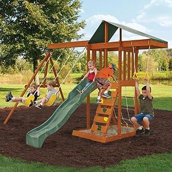 westmount iii outdoor wooden playcenter click to open expanded view big backyard