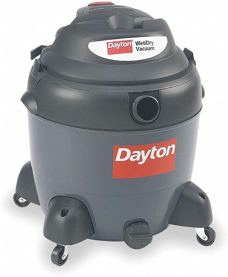 Dayton 18 gal. Specialty Wet/Dry Vacuum, 6.5 Peak HP, 120 Voltage - 3VE22