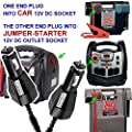 KHOI1971 CAR Charger Adapter for Black Yellow-Trim DRJS20 Duracell Jump Starter